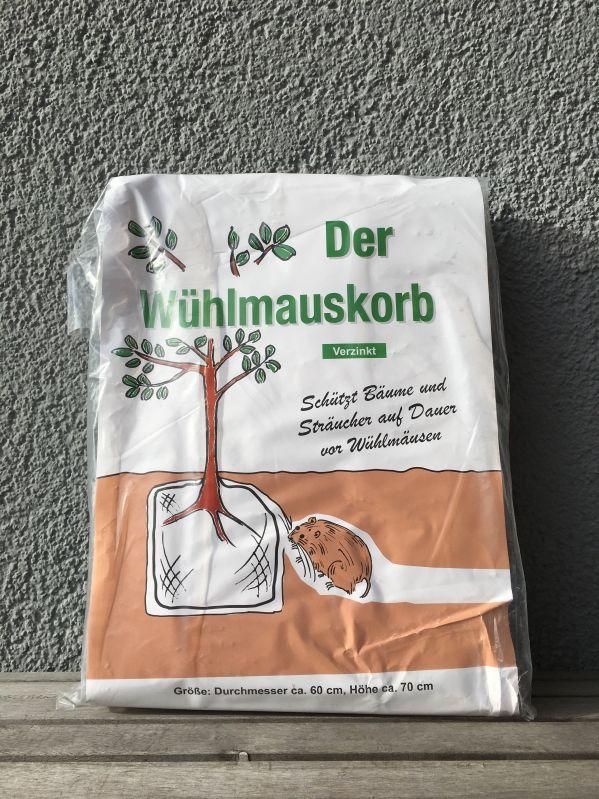 Wühlmauskorb, verzinkt