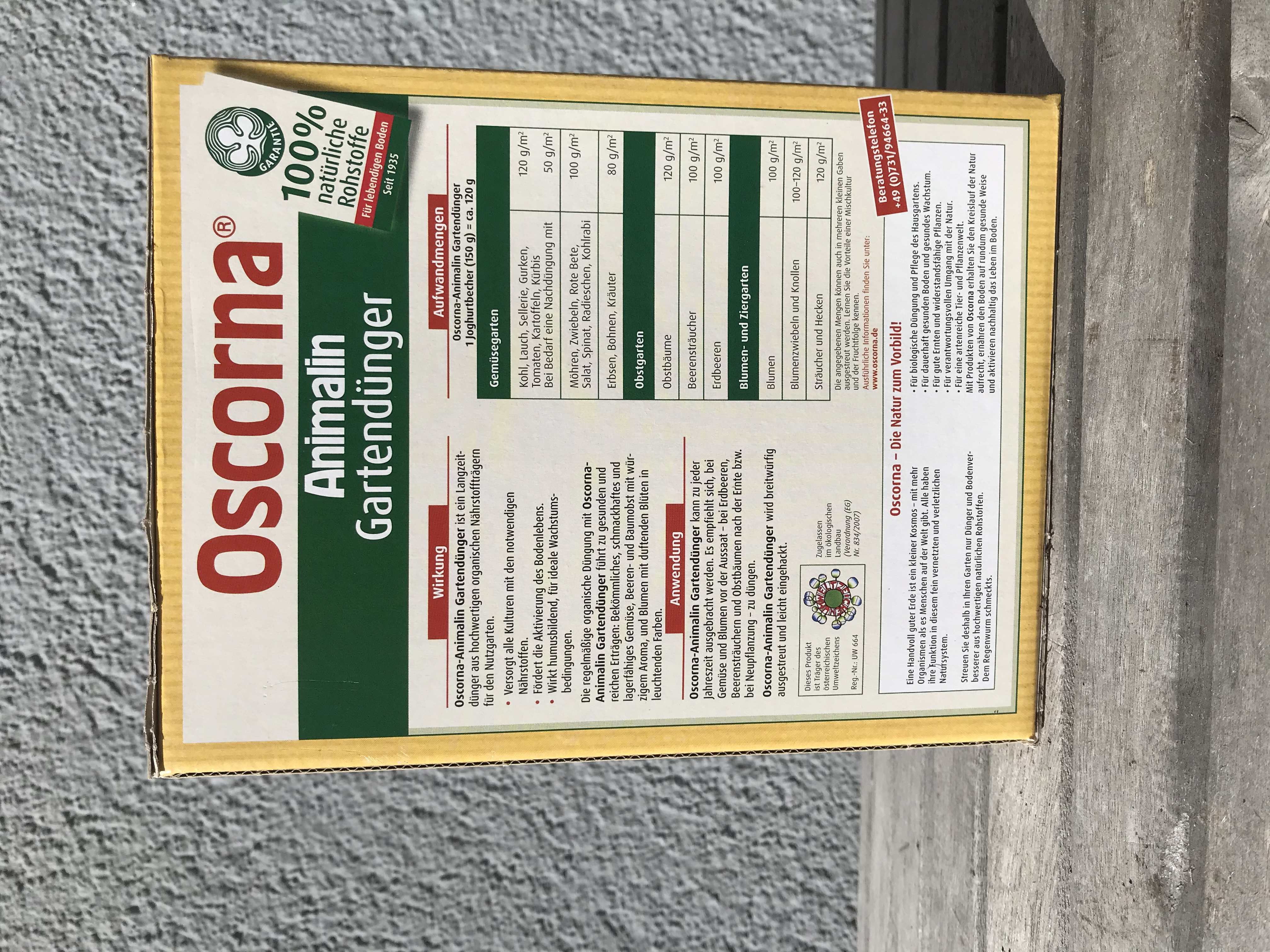 Oscorna Animalin Dünger